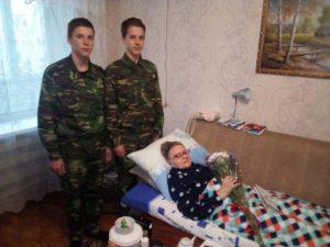 Поздравление ветеранов ВОВ с Новым Годом