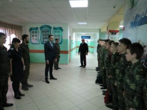 Рабочий визит Заместителя губернатора Ростовской области Корнеева М.В.