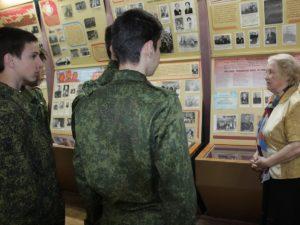 26 апреля кадеты 8 «б» класса посетили краеведческий музей  ОСОШ №1