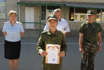 Военно–спортивная игра «Зарница»
