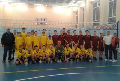 Муниципальный этап Всероссийских соревнований по волейболу