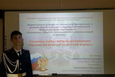Финал Всероссийского конкурса на знание государственных и региональных символов и атрибутов Российской Федерации